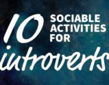 Ten Sociable Activities For Introverts