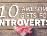 10 Awesome Gifts for Introverts