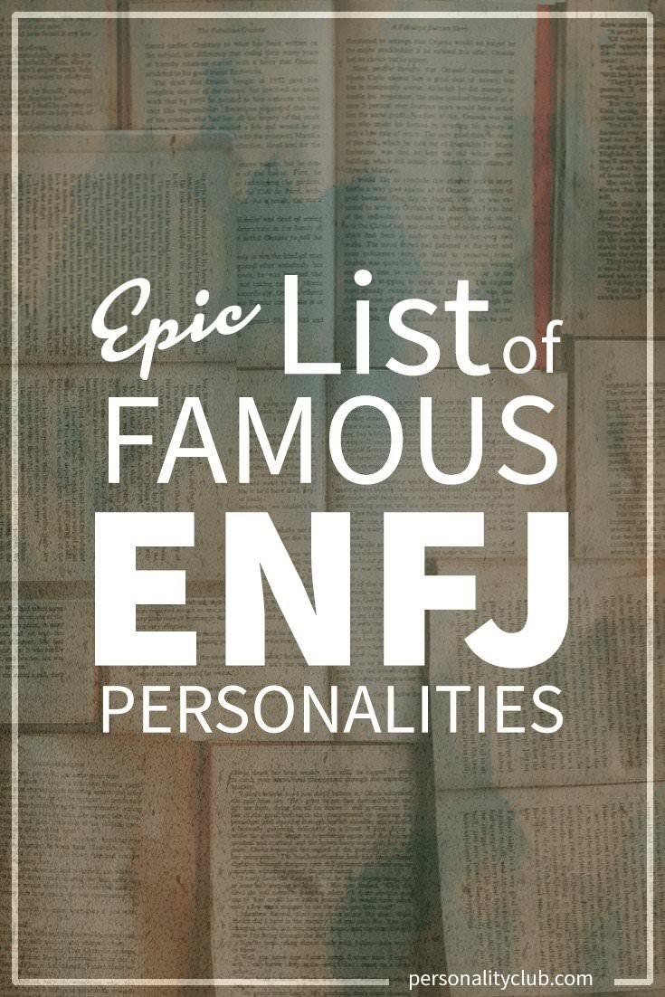 Famous ENFJ Personalities