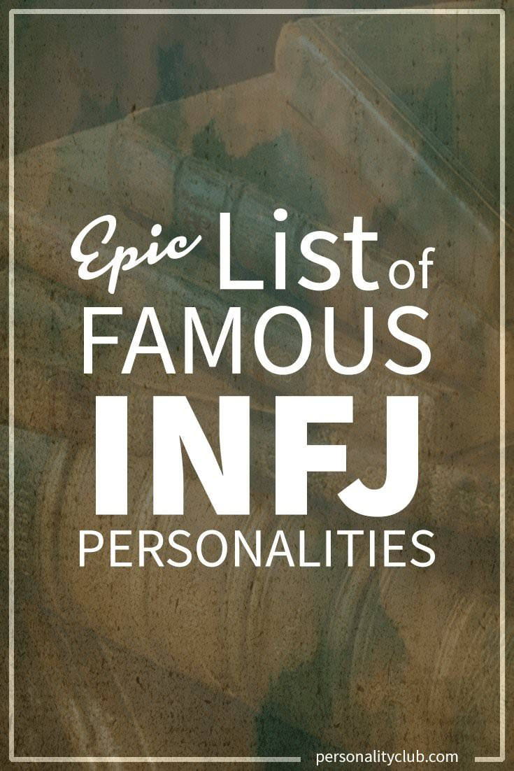 Famous INFJ Personalities