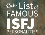 Famous ISFJ Personalities